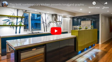 Green Kitchen 2 - countertop | interior design countertop, interior design, kitchen, real estate, gray