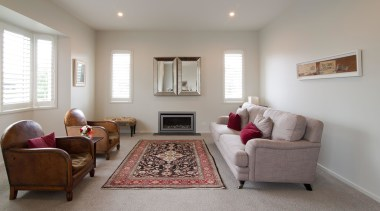 Red and white lounge in Austin - Landmark ceiling, estate, floor, flooring, hardwood, home, house, interior design, living room, property, real estate, room, window, gray
