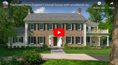 New England Clonial  Jpg - cottage | cottage, estate, facade, farmhouse, historic house, home, house, manor house, mansion, plantation, property, real estate, green
