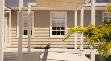 Shade Sail facade, home, house, outdoor structure, porch, property, real estate, residential area, shade, siding, window, gray