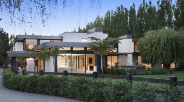 Winner –  O'Neil Architecture – 2018 TIDA architecture, cottage, elevation, estate, facade, home, house, mixed use, property, real estate, residential area, villa, black