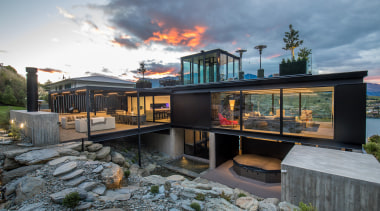 Winner – Gary Todd Architecture – TIDA New architecture, home, house, real estate, gray, black