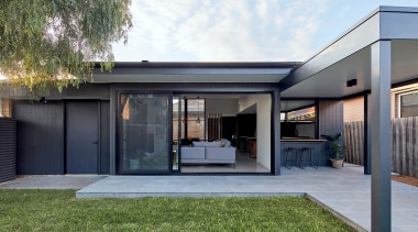 A contemporary and minimal renovation has transformed a