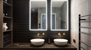 The existing ensuite layout was redesigned so a