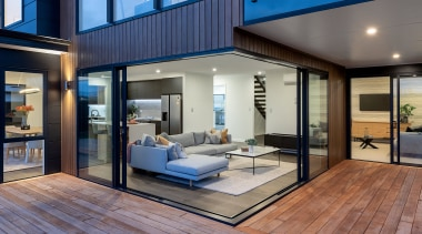 Thoughtfully designed, the functional, four-bedroom (plus study) floor