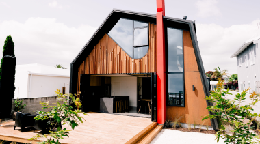 For the owners of this whare, the design