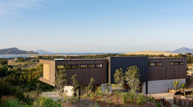 Sitting lightly on the land, this home's upper
