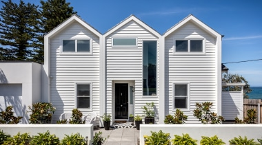 Alex Urena Design Studio – Highly Commended – architecture, building, cargo, cottage, estate, facade, home, house, property, real estate, residential area, roof, siding, tree, window, white