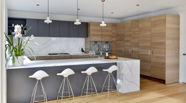 Having plenty of space for a kitchen has