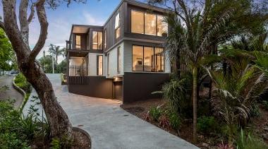 Creative Arch – Finalist – 2019 TIDA Homes architecture, building, estate, facade, home, house, property, real estate, residential area, tree, villa, black, gray