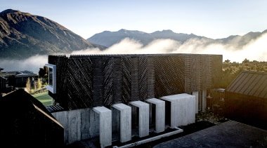 AO Architecture – Highly Commended – 2019 TIDA architecture, building, cloud, house, landscape, mountain, photography, sky, black, white