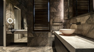 This large ensuite is essentially 'his and her'