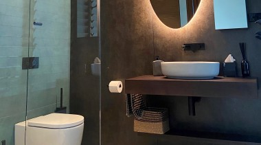 Neolith porcelain sheet with a corten steel effect