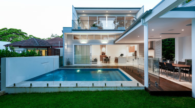 The Design Consultant – Highly Commended – 2019 architecture, backyard, building, courtyard, estate, facade, grass, home, house, interior design, leisure, leisure centre, property, real estate, residential area, resort, swimming pool, villa, yard, white