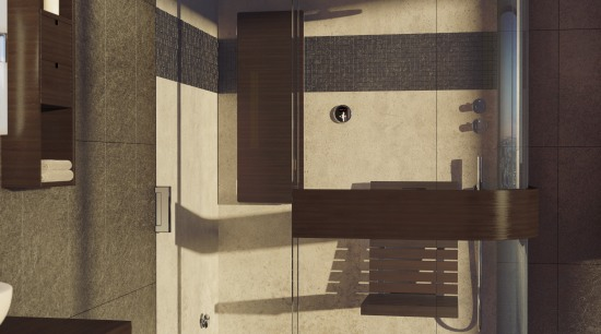 View of a bathroom which features the Expose plumbing fixture, sink, black, brown