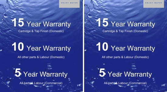View of a warranty advertising, blue, font, product, sky, text, water, blue