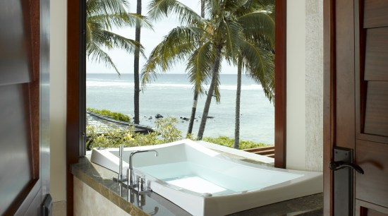 View of vacation home with wooden ceilings and architecture, bathroom, bathtub, daylighting, estate, home, house, interior design, property, real estate, room, window, brown