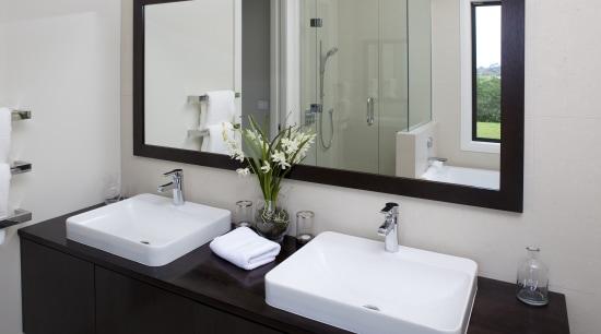Bathroomware from Mico Bathrooms. bathroom, bathroom accessory, bathroom cabinet, home, product design, room, sink, gray
