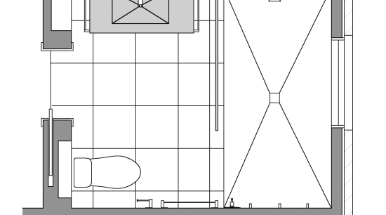 Small bathroom renovation angle, architecture, area, black and white, design, diagram, drawing, elevation, facade, floor plan, furniture, home, line, line art, plan, product, product design, rectangle, shed, square, structure, white