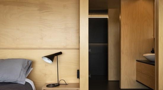 2018 TIDA New Zealand Architect-designed Suite Winner – cabinetry, cupboard, door, furniture, interior design, wall, wardrobe, wood, orange, brown