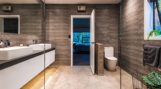 TIDA New Zealand Designer Suite Winner – Kirsty bathroom, floor, flooring, interior design, real estate, room, tile, gray, brown