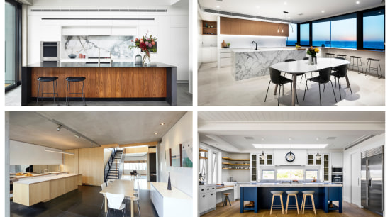 2019 Aus TIDA Kitchens finalist 2 x 2 apartment, architecture, building, cabinetry, ceiling, design, floor, flooring, furniture, home, house, interior design, kitchen, office, property, real estate, room, table, wall, white