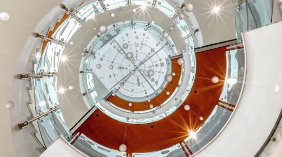 Colorado State University1 - architecture | daylighting | architecture, daylighting, stairs, gray, white
