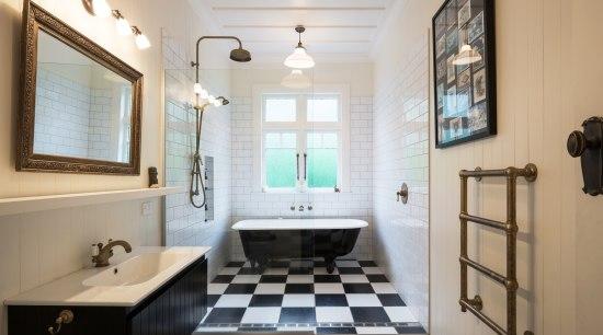 Family Bathroom bathroom, estate, floor, home, interior design, real estate, room, gray