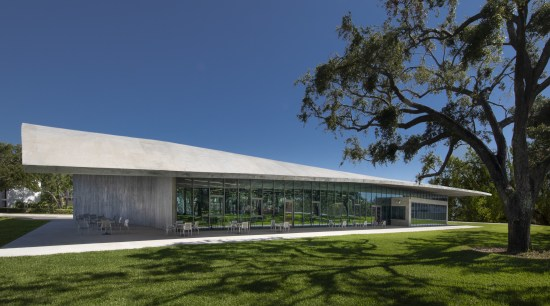 The Thomas P Murphy Design Studio Building is architecture, building, community centre, facade, headquarters, pavilion, University of Miami School of Architecture