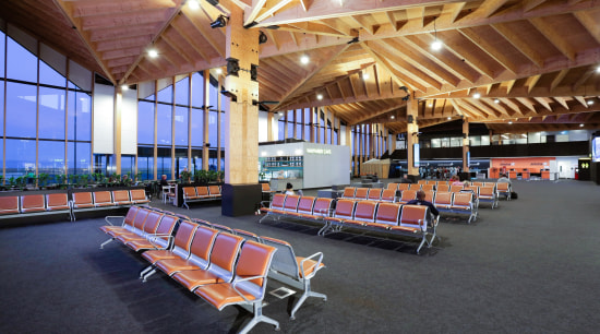 Nelson Airport Terminal by Studio Pacific Architecture black