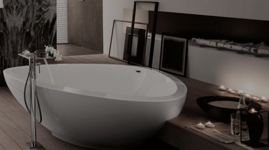 This is a trend you can rely on bathroom, bathroom sink, bathtub, bidet, ceramic, interior design, plumbing fixture, sink, tap, black, gray