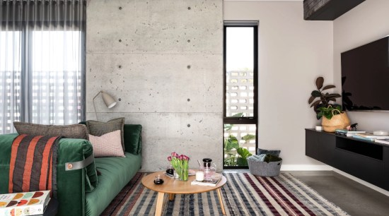 Interior design trends 2019 – what's in and apartment, architecture, bedroom, building, ceiling, coffee table, curtain, floor, flooring, furniture, green, hardwood, home, house, interior design, living room, loft, property, real estate, room, suite, table, wall, window covering, window treatment, gray