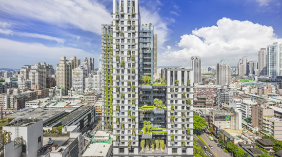 Sky Green makes greenery accessible to the residential white