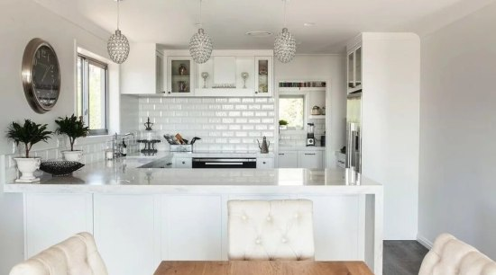 Want to learn how to lift your kitchen countertop, cuisine classique, home, interior design, kitchen, property, real estate, room, gray, white
