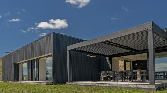Graeme Campbell / Landmark Homes – Winner – architecture, building, design, facade, home, house, property, real estate, roof, sky, blue