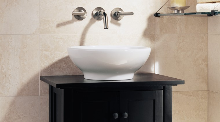 A contemporary faucet bathroom, bathroom accessory, bathroom cabinet, bathroom sink, ceramic, countertop, kitchen stove, plumbing fixture, product design, sink, tap, gray