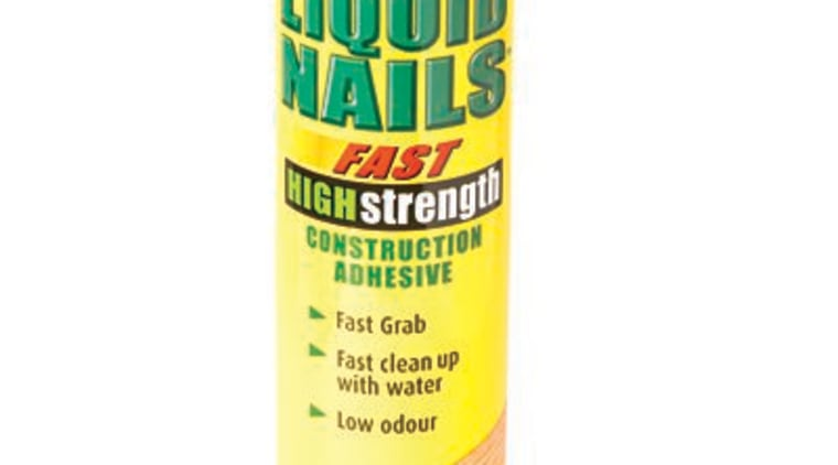 Selleys Liquid Nails Fast High Strength 420g tube product, white
