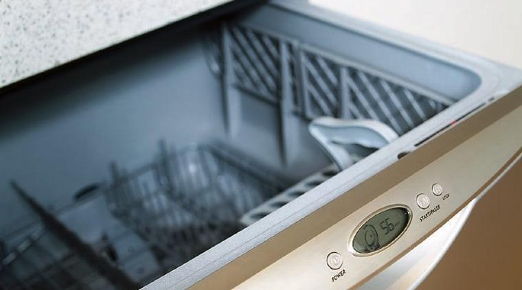 Fisher & Paykel DishDrawer in Iridium stainless steel product design, white