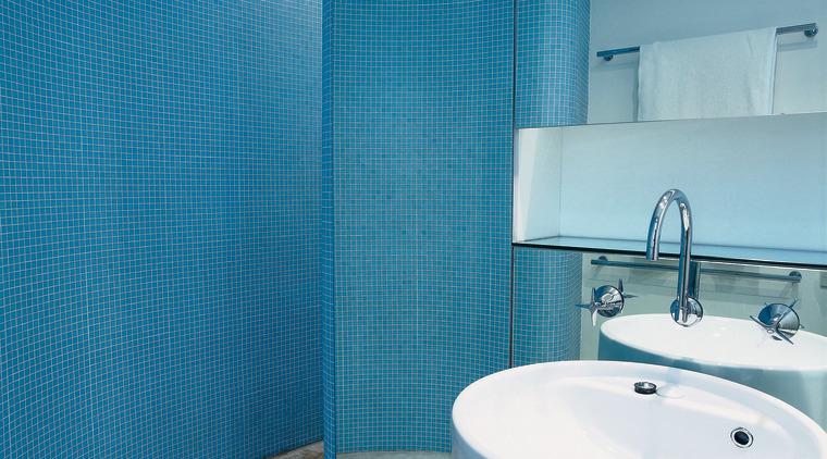 The detail of a basin azure, bathroom, bidet, blue, floor, interior design, plumbing fixture, purple, room, tap, tile, toilet seat, turquoise, wall, teal