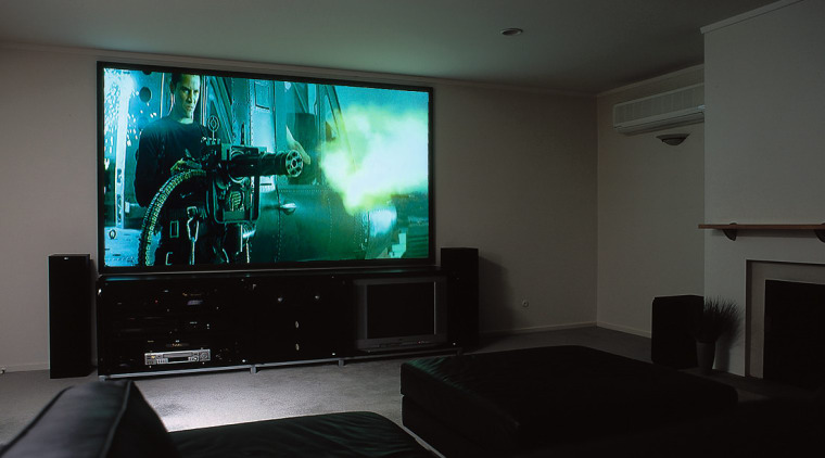A home theatre system ceiling, display device, electronic device, flat panel display, home, home cinema, house, interior design, multimedia, room, technology, black