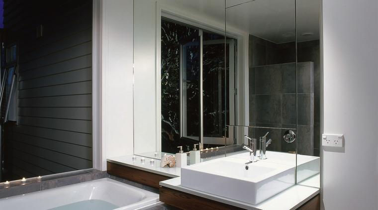 The view of a bathroom featuring a bath architecture, bathroom, glass, interior design, room, window, gray, black