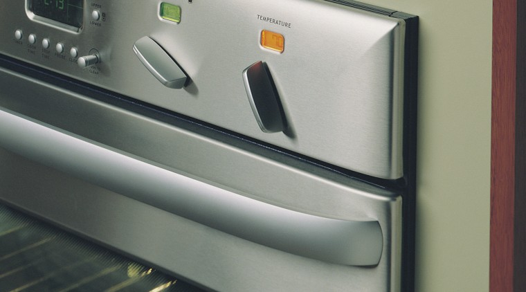 Inner view of this oven appliance home appliance, kitchen appliance, major appliance, product design, gray, black