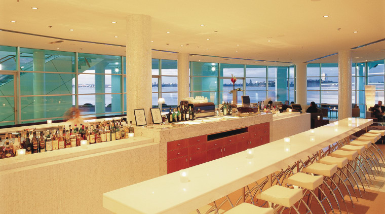 View of the bar stools offered by Titan interior design, real estate, orange