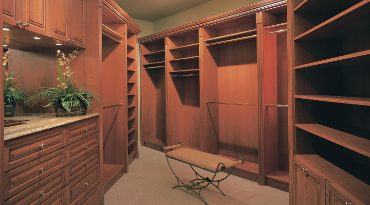 View of the cabinetry cabinetry, ceiling, closet, furniture, home, interior design, lighting, room, wall, wood, brown, black