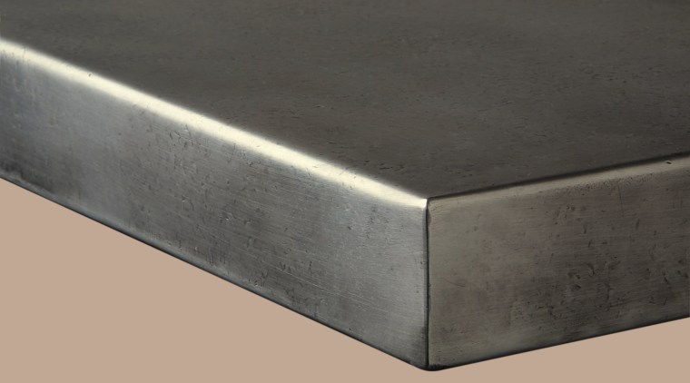 View of this countertop angle, material, metal, product design, rectangle, steel, black, gray, orange