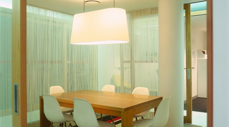 View of the dining area, white, brown, black architecture, ceiling, dining room, floor, furniture, home, interior design, light fixture, lighting, real estate, room, table, wall, window, window covering, brown, orange