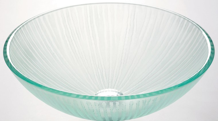 viewof the frosted glass basin glass, product design, tableware, white