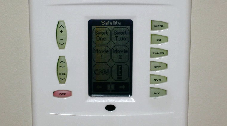 the sonance keypad  is hard wired into electronics, hardware, product design, weighing scale, gray