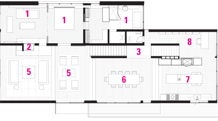 A legend plan of the home. architecture, area, building, design, elevation, facade, floor plan, line, plan, product, product design, structure, white
