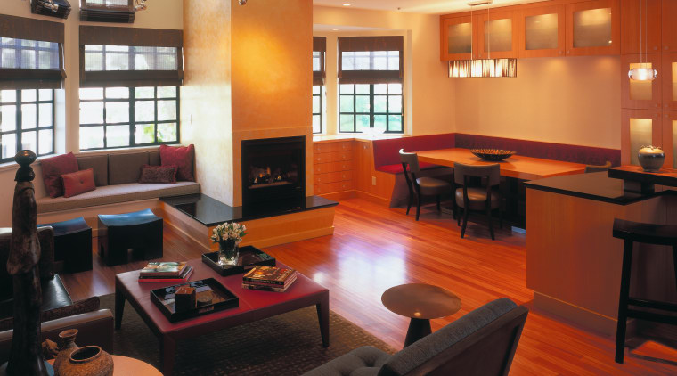 view of the lounge/dining area featuring  african furniture, interior design, living room, lobby, room, black